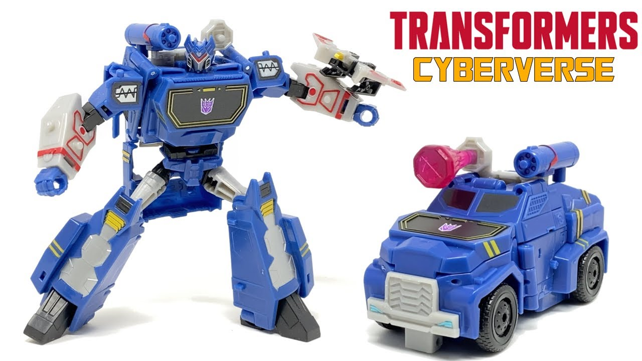 Transformers Cyberverse Deluxe Soundwave In-Hand Review by PrimeVsPrime
