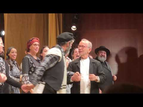 Curtain Call in Fiddler on the Roof in Yiddish — Museum of Jewish Heritage 09.23.18
