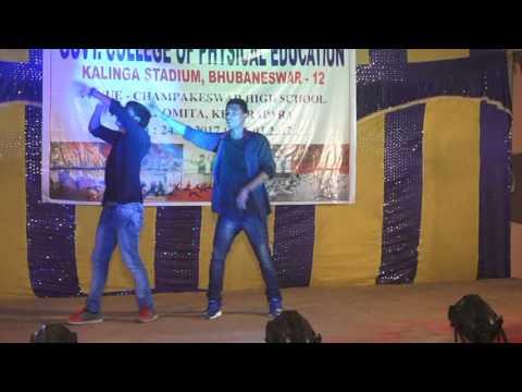 Haye guri tor lachki chali sumbalpuri dance by Riku & Milu