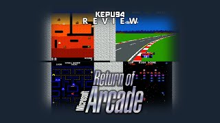 Microsoft Return of Arcade [REVIEW/DE]