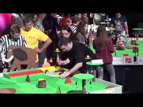 2014 - Wall-y et ses petits robots vs Reb'UT - Coupe de France de Robotique 2014