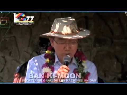 Cumbre G77 + China por 50 aniversario en la ciudad de Santa Cruz