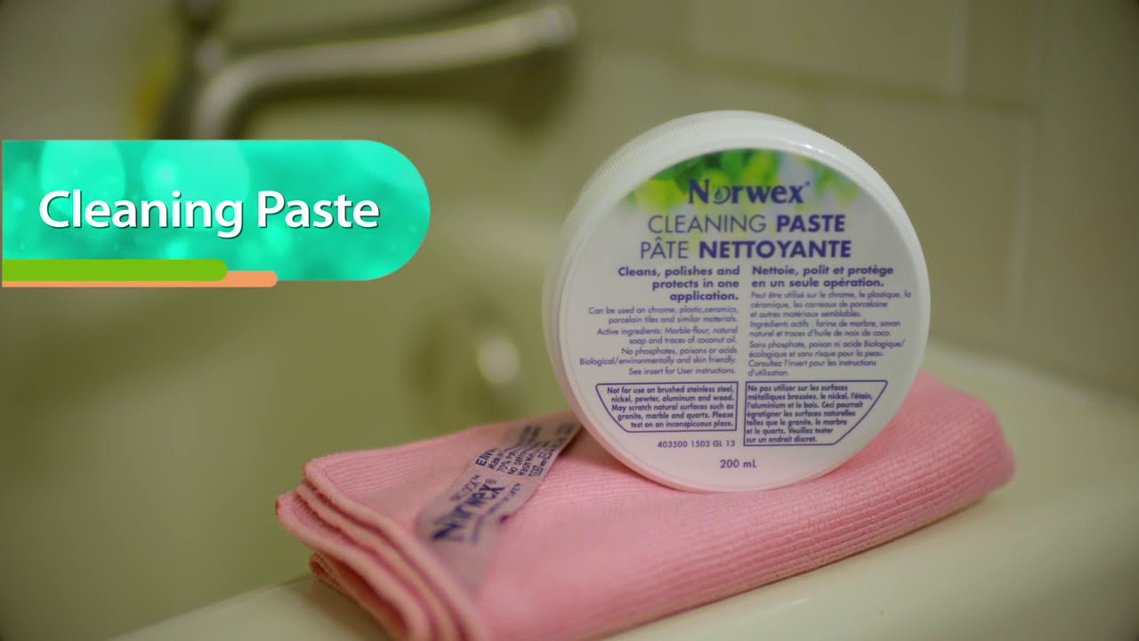Norwex Products Cleaning Paste Youtube