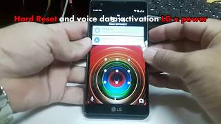How To Reset LG X Power - Hard Reset/Network Restore