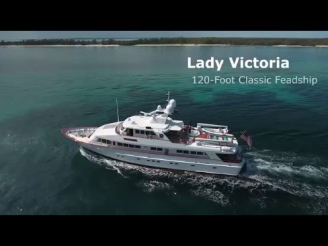 Lady Victoria for Charter Contact Your Charter Broker