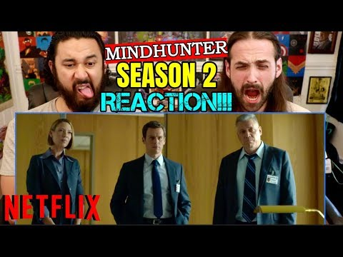 MINDHUNTER | SEASON 2 | TRAILER - REACTION!!! (Netflix)