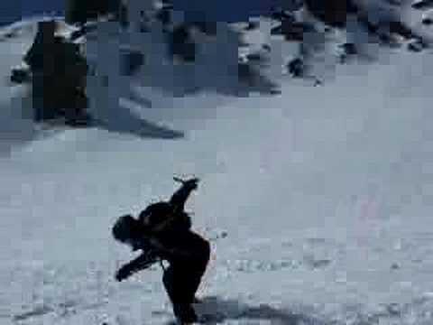 Skiing Jump Crash Ben Hodges