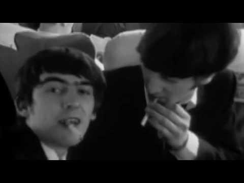 John Lennon and George Harrison Make a commerical for ...  John Lennon and...