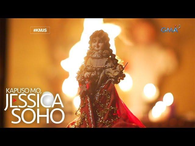 Kapuso Mo, Jessica Soho: Mga imahen ng Sto. Niño, gumagalaw at pagala-gala diumano sa Bataan