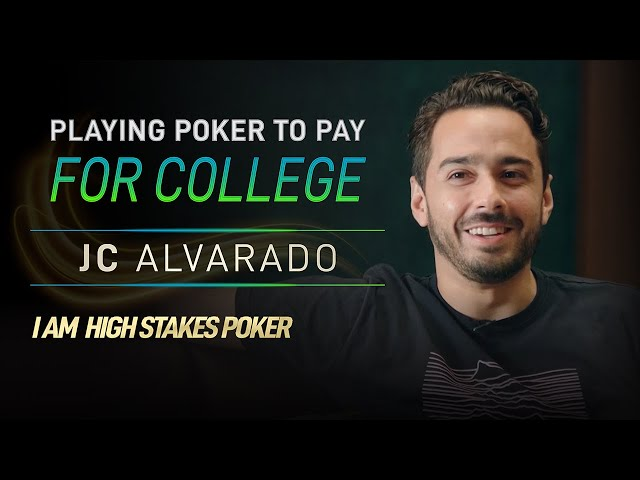 JC Alvarado Paid for College by Playing Poker