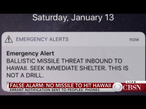 Sen. Brian Schatz on false alarm about missile threat to Hawaii