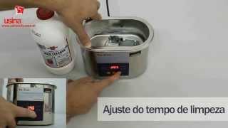 Cuba Digital de Ultrassom YX2000A Microprocessada para limpeza