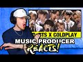 Music Producer Reacts to BTS Performs 'Fix You' Coldplay Cover | MTV Unplugged Presents: BTS