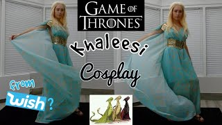 Game of Thrones Khalessi Cosplay - Daenerys Targaryen