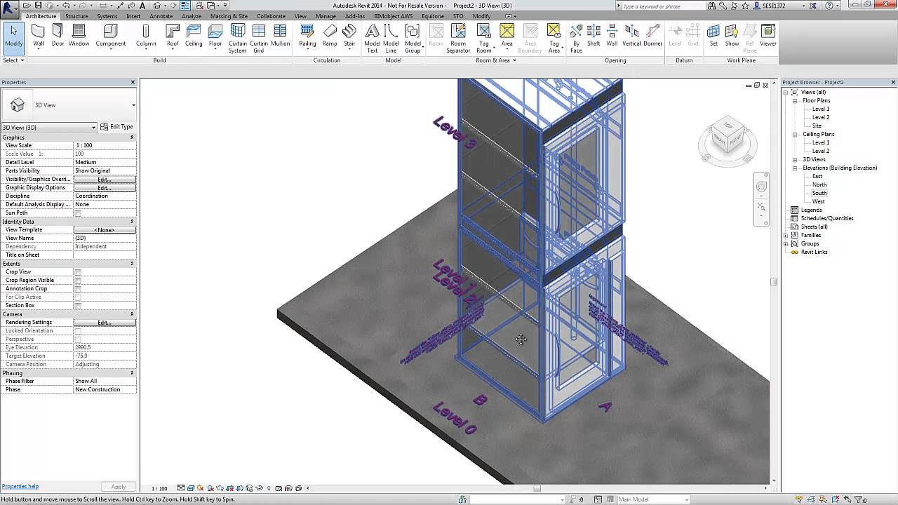 Cibes Lift products as BIM objects for Revit - Tutorial