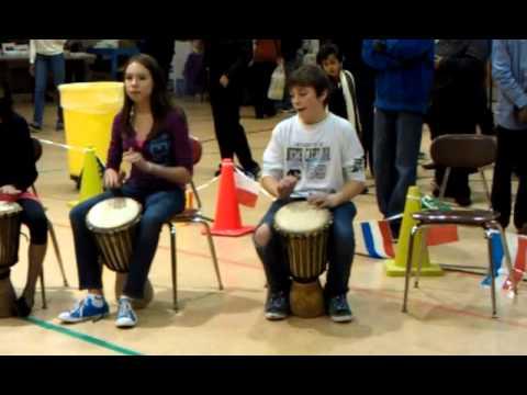 Paisley IB Magnet School African Drum Circle 2012