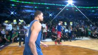 vuclip JaVale McGee Dunks Two Balls in Two Hoops