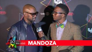 SAMA20 Nominee Announcement Celebration - Interview with Mandoza