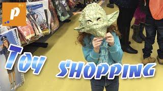 Что это со мной случилось? Поход в детский магазин игрушек, покупки игрушек  Toy shopping