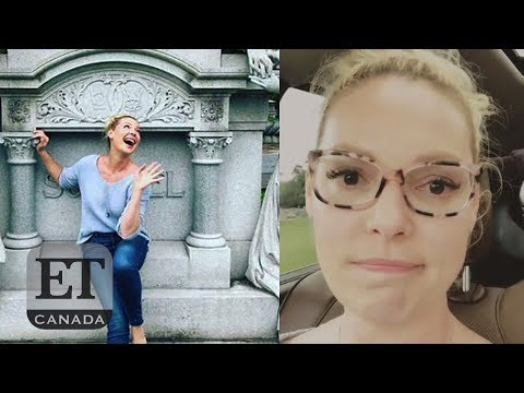 Katherine Heigl Apologizes For Cemetery Photo