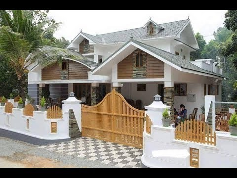Cute Small Double Floor House 1200 SFT for 12 Lakh | Elevation | Interior