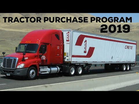 Crete Carrier Tractor Purchase Program 2019 - Not a lease Purchase Truck