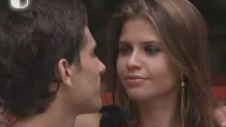 BBB10 Claudia  Eliezer first kiss 20-01-2010