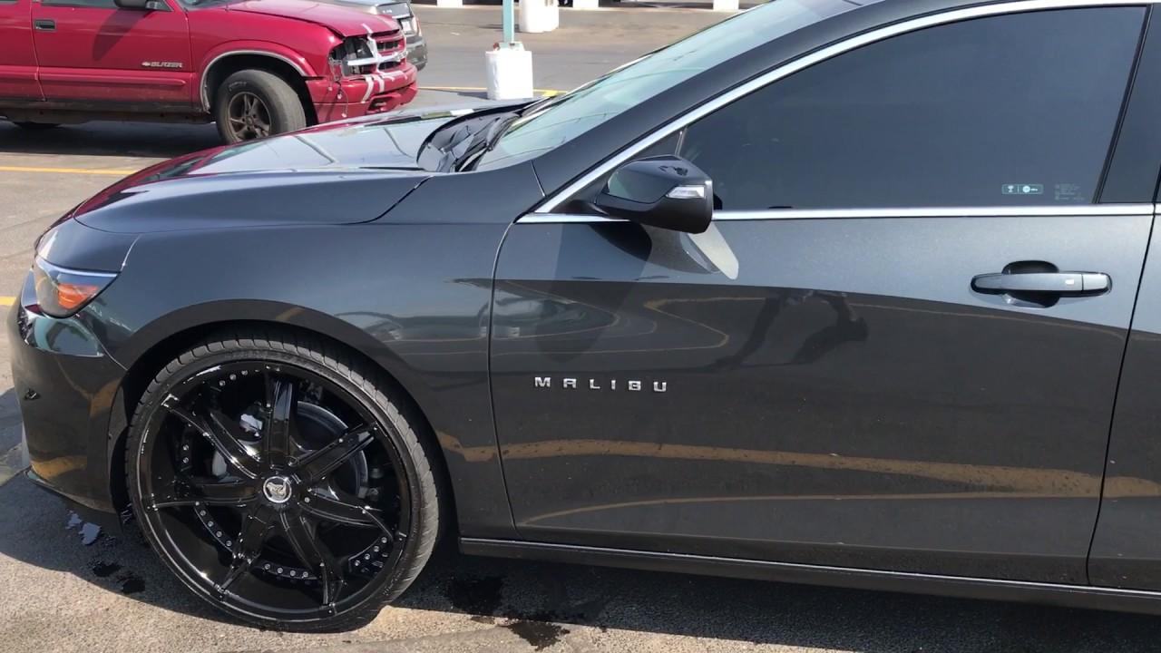 2017 Chevy Malibu Lt On 22in Diablo Dna