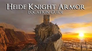 Dark Souls 2 | Heide Knight Armor Set (Location Guide)
