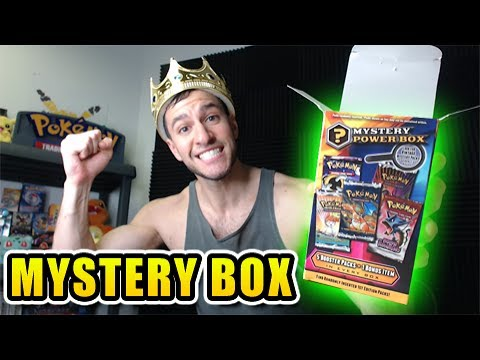 BLAST FROM THE PAST! - OPENING AN OLD POKEMON MYSTERY POWER BOX!