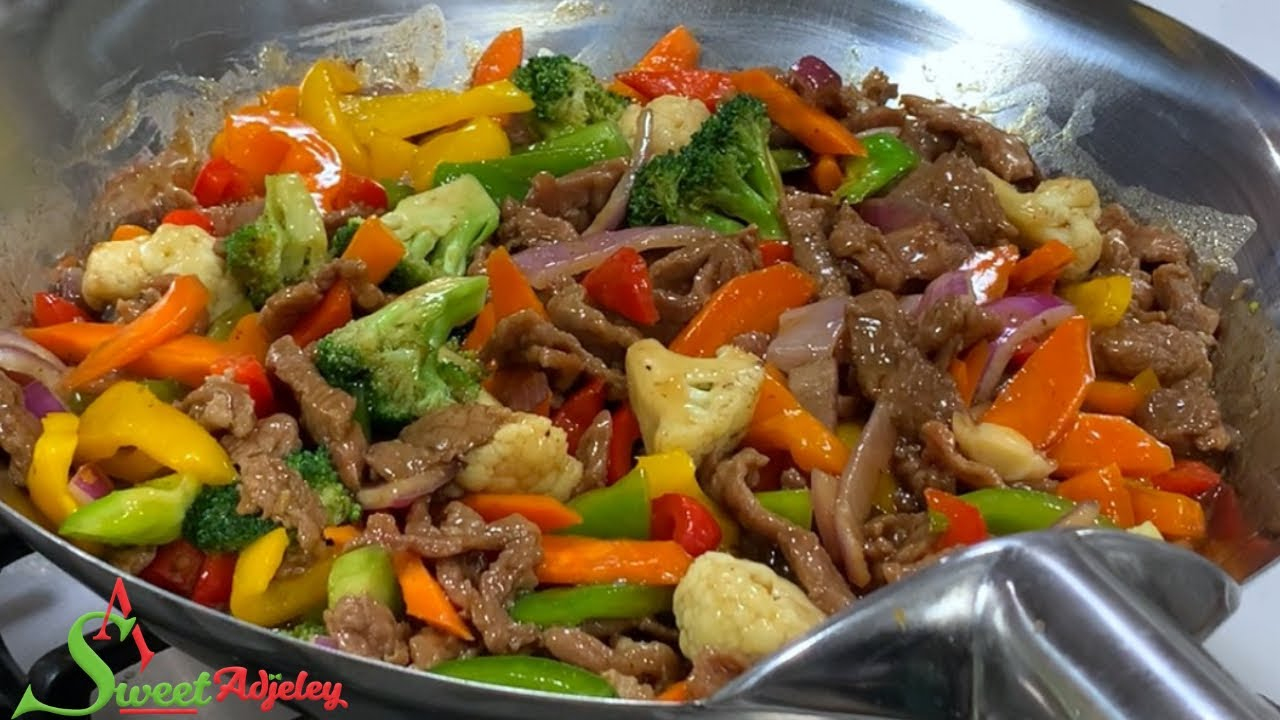 Download BEEF & VEGETABLE SAUCE WITH WHITE RICE RECIPE | LET'S MAKE DINNER IN UNDER 30 MINUTES
