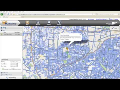 MOTOsafety Teen Driving Coach And GPS Tracking Software Overview