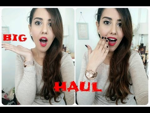 BIG HAUL Madrid, Rabat, Casa, Marrakech-PARTIE 1-مشترياتي من