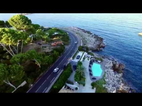 DJI Phantom 3 pro, Cap D'Antibes Sea view