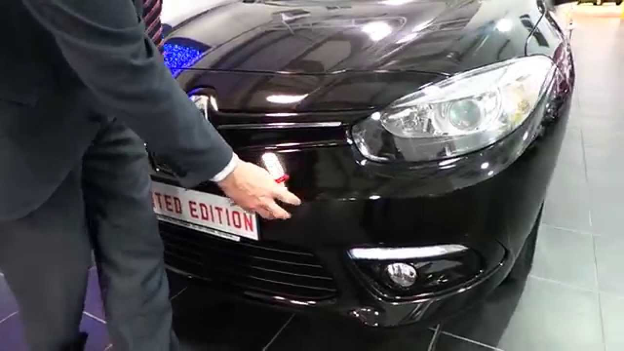 renault fluence limited edition