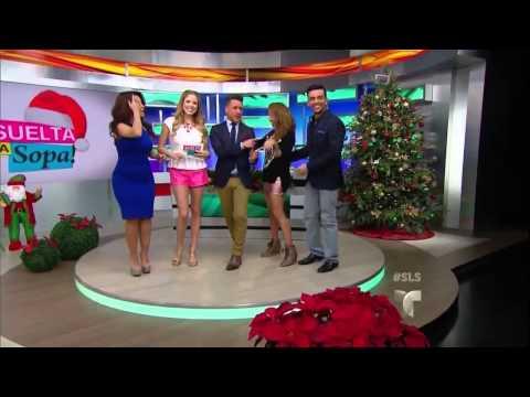 Carolina Sandoval hot body, thick hips, legs & high heels (12-17-13)