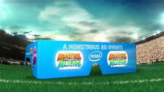Monsters Vs. Aliens 3D Super Bowl XLIII Halftime Promo