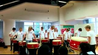 German boys and girls played Chinese Drums_Part2/2