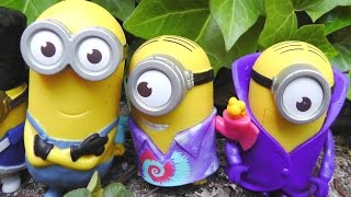 MINIONS 2015 McDonald's happy meal cajita feliz