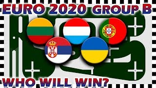 Euro 2020 Qualifiers Marble Race - Euro Group B