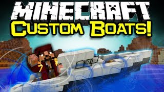 Minecraft ARCHIMEDES SHIPS MOD Spotlight! - Advanced Boat Creation! (Minecraft Mod Showcase)