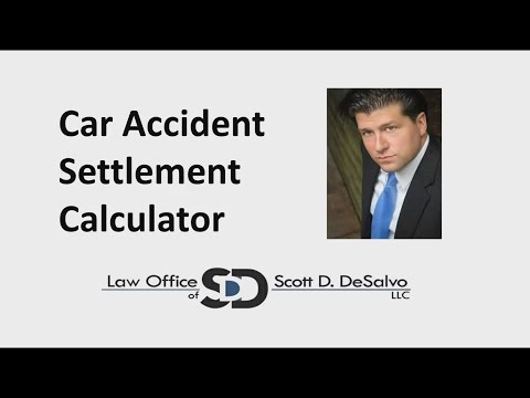 Chicago Car Accident Lawyer - Car Accident Settlement Calculator