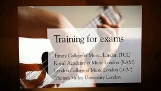 Guitar class in Borivali, Malad, Kandivali for training in international Guitar Exams