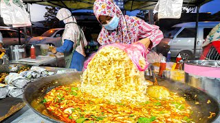 $0.49 BIGGEST and CHEAPEST Street NOODLES in the WORLD! + BEST MALAY Street Food Tour of Terengganu!
