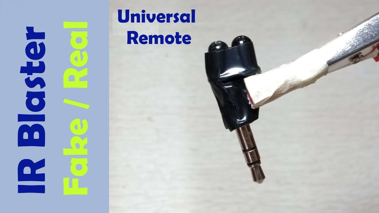 ir blaster for android find out real fake universal remote [ 1280 x 720 Pixel ]