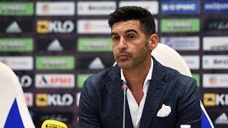 Паулу Фонсека – о игре с Динамо: Матч был более открытым