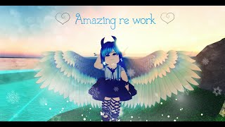 Ice guardian wings re worked!. Roblox royale high