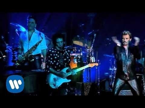 Johnny Hallyday - Blueberry Hill En Duo avec Chris Isaak à La Cigale 2006- [Live]