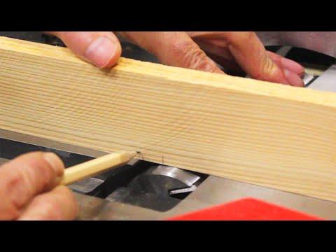 Регулировка ножей фуганка и высоты приемного стола.