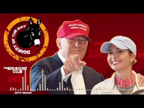 Ivanka Trump Has Chinese Goods Imported During Her Dad's 'Buy American' Speech - Donkey of the Day